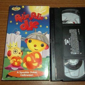 DISNEY ROLIE POLIE OLIE HALLOWEEN VHS